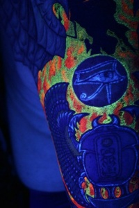 UV ink tattoo
